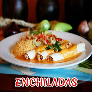 MEXICAN ENCHILADAS